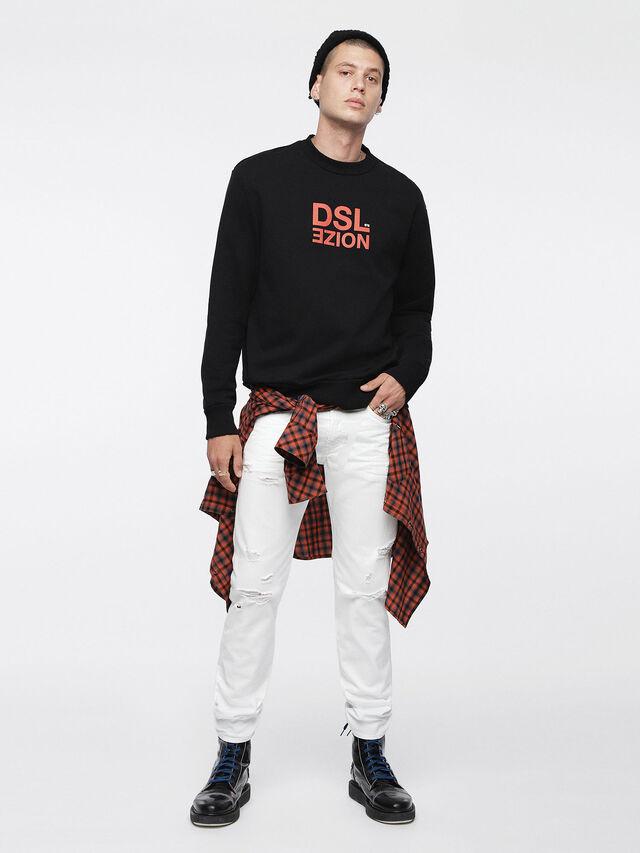 Diesel Buster 0680K, Blanc - Jeans - Image 4