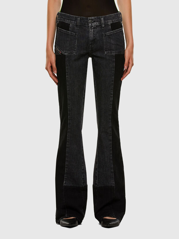 D-Ebbey 009IM, Noir/Gris foncé - Jeans