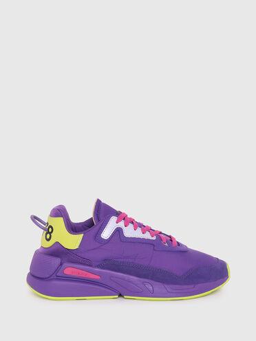 Sneakers en nylon froncé
