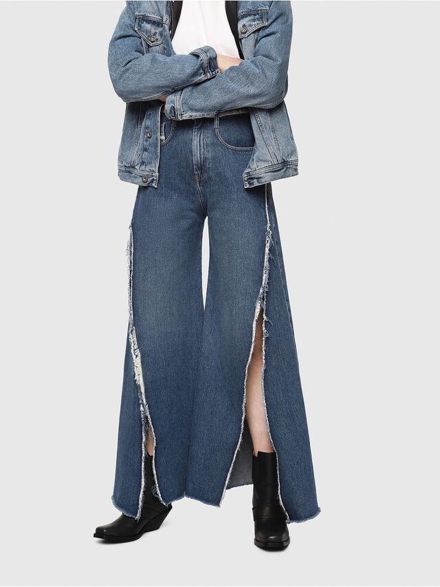 Diesel - D-Izzier 080AN, Bleu moyen - Jeans - Image 1