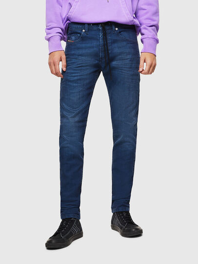 Diesel - Thommer JoggJeans 0098H, Bleu moyen - Jeans - Image 1