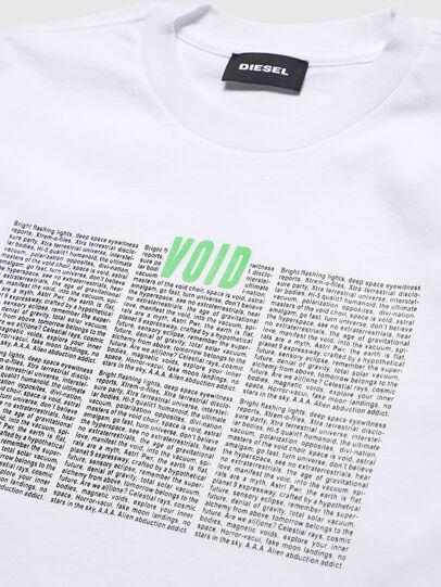 Diesel - TJUSTLS-NEW, Blanc - T-shirts et Hauts - Image 3