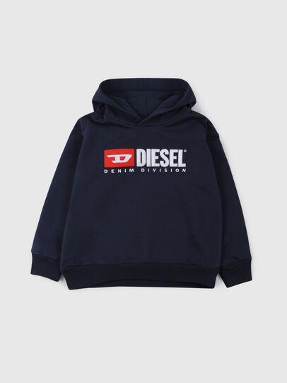 Diesel - SDIVISION OVER, Bleu Nuit - Pull Cotton - Image 1