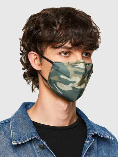Diesel - FACEMASK-CAMU, Vert Militaire - Other Accessories - Image 2