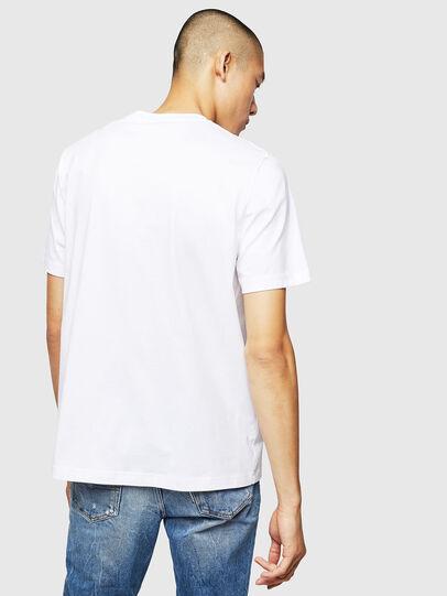 Diesel - T-JUST-B1, Blanc - T-Shirts - Image 2