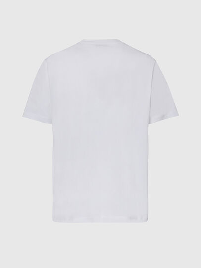 Diesel - T-JUST-X65, Blanc - T-Shirts - Image 2