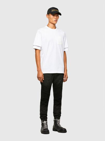 Diesel - T-FONTAL, Blanc - T-Shirts - Image 5