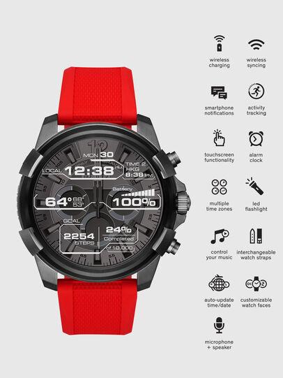 Diesel - DT2006, Rouge - Smartwatches - Image 1
