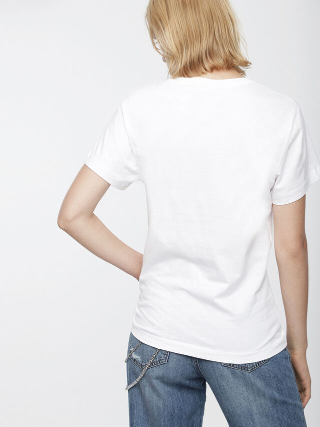 Diesel - T-GODIE, Blanc - T-Shirts - Image 2