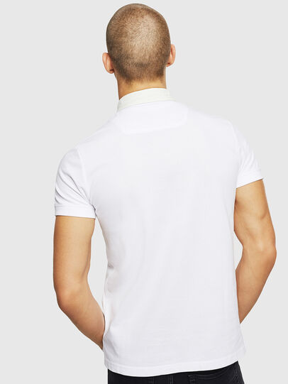 Diesel - T-MILES-NEW, Blanc - Polos - Image 2