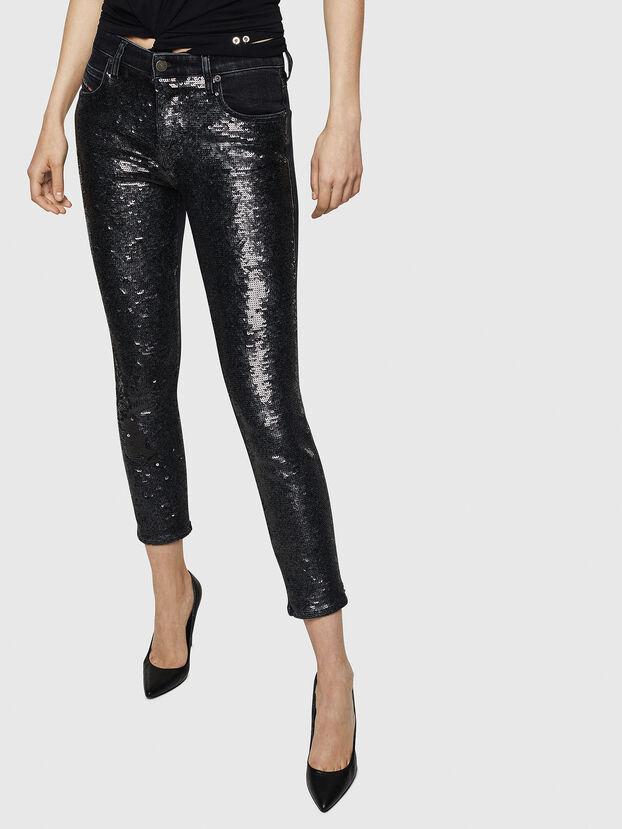 Babhila 0093G, Noir/Gris foncé - Jeans