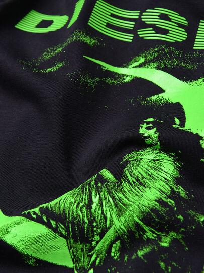 Diesel - TJUSTXS, Noir - T-shirts et Hauts - Image 3