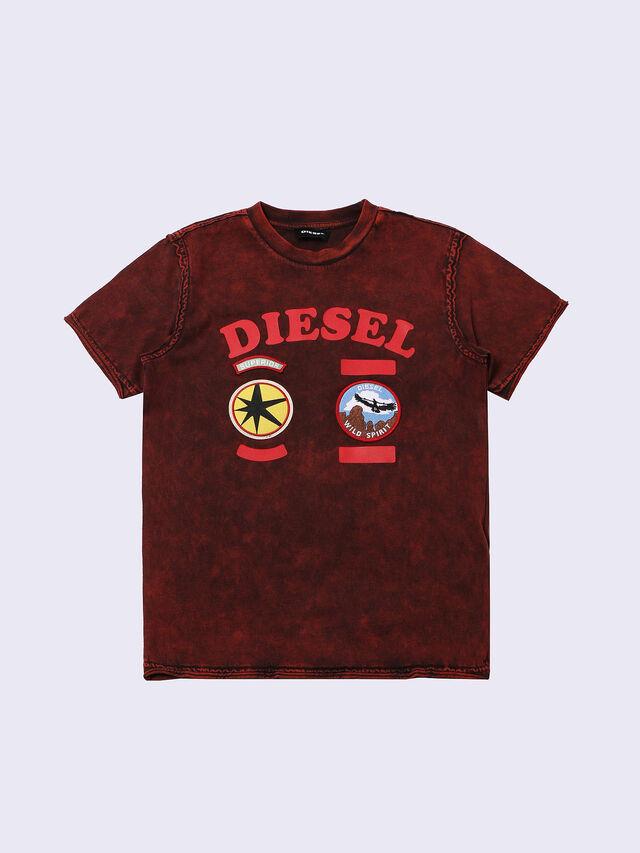 Diesel - TIFFOR, Bordeaux - T-shirts et Hauts - Image 1