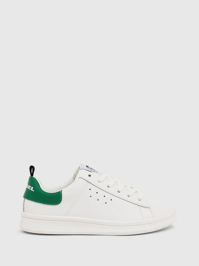 Diesel - SN LOW LACE 11 FULL, Blanc/Vert - Footwear - Image 1