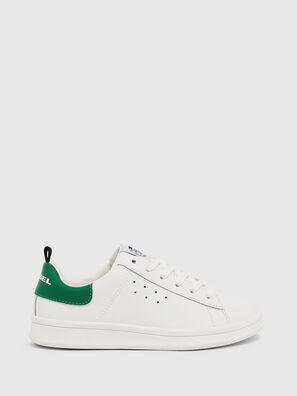 SN LOW LACE 11 FULL, Blanc/Vert - Footwear
