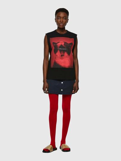 Diesel - T-PUNKYERN, Noir - T-Shirts - Image 4