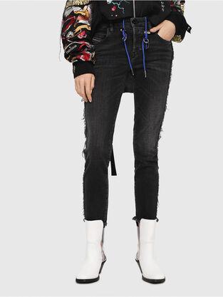 Babhila 081AH, Noir/Gris foncé - Jeans