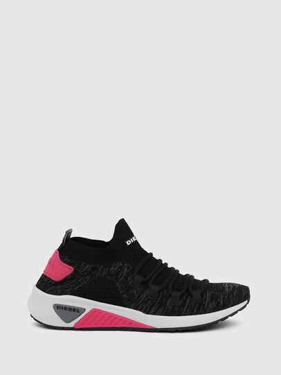 Diesel - S-KB ATHL LACE W, Noir/Rose - Baskets - Image 1