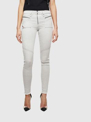 Slandy 0097F, Gris Clair - Jeans