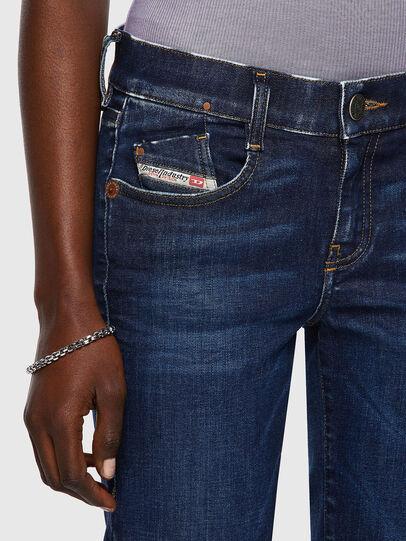 Diesel - D-Ebbey 09A30, Bleu Foncé - Jeans - Image 4