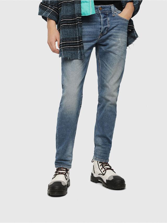 Diesel - Larkee-Beex 089AW, Bleu moyen - Jeans - Image 1