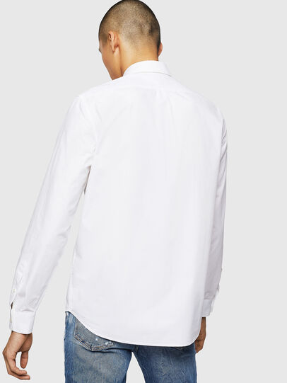Diesel - S-MOI-R-BW, Blanc - Chemises - Image 2