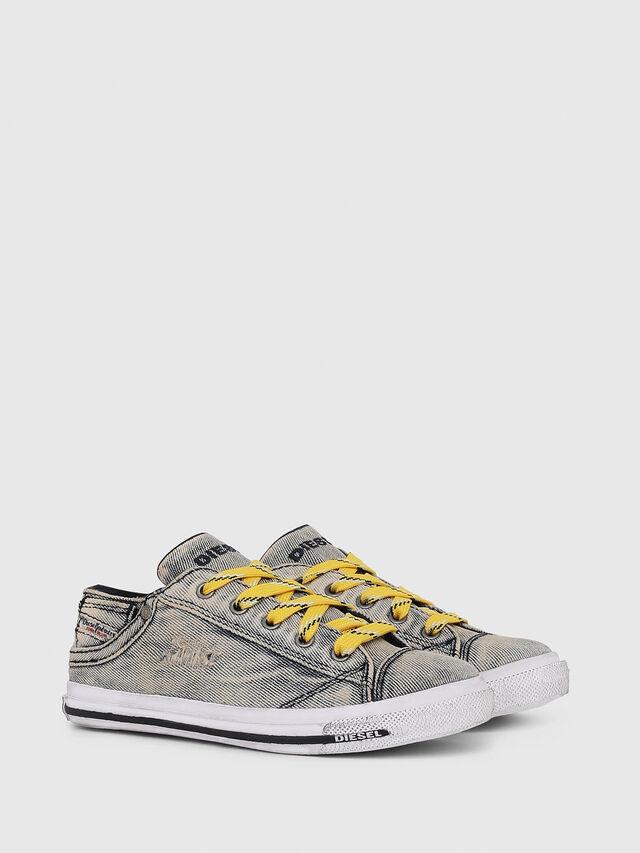 Diesel - SN LOW LACE DENIM 13, Jean Gris - Footwear - Image 2