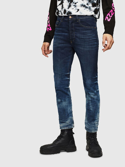 Diesel - D-Eetar 0097U, Bleu Foncé - Jeans - Image 1