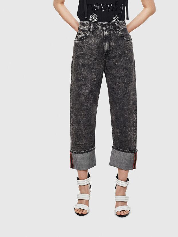 D-Reggy 0099F, Noir/Gris foncé - Jeans