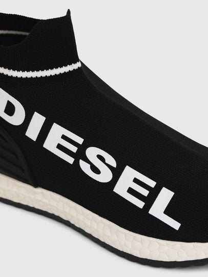 Diesel - SLIP ON 03 LOW SOCK, Noir - Footwear - Image 4