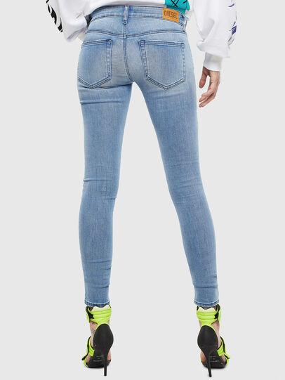 Diesel - Slandy Low 0096L, Bleu Clair - Jeans - Image 2