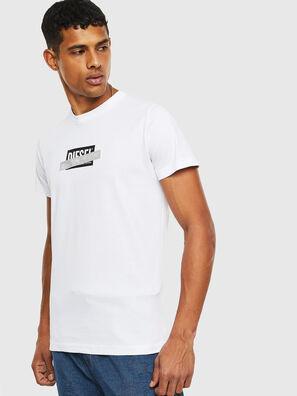 T-DIEGO-S7, Blanc - T-Shirts