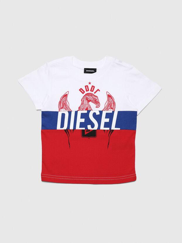 TRICKYB-R, Blanc/Rouge/Bleu - T-shirts et Hauts