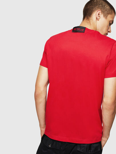 Diesel - LCP-T-DIEGO-LISBOA, Rouge - T-Shirts - Image 3