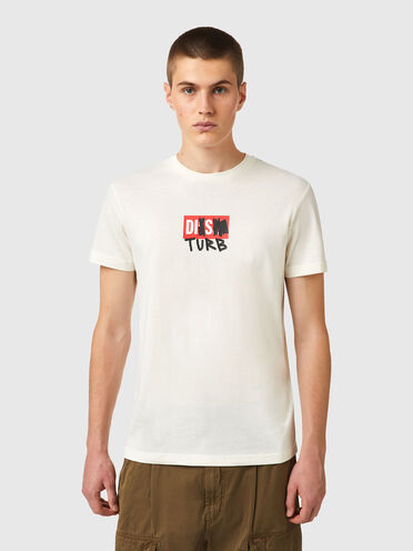 T-shirt Green Label avec logo DISTURB