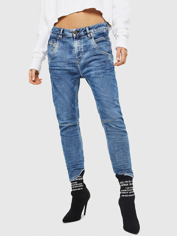 Fayza JoggJeans 0870K, Bleu Clair - Jeans