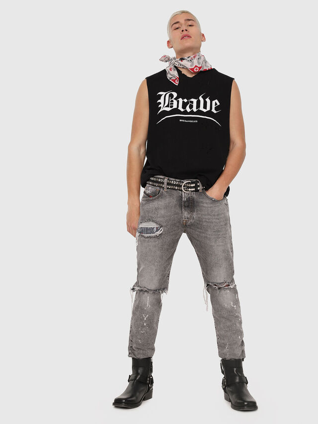 Diesel - Mharky 089AT, Gris Clair - Jeans - Image 5