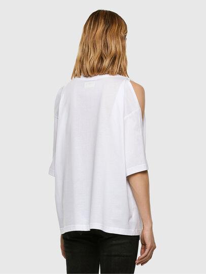 Diesel - T-RASSEL, Blanc - T-Shirts - Image 7