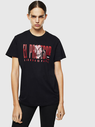 Diesel - LCP-T-DIEGO-ELPROFES, Noir - T-Shirts - Image 2