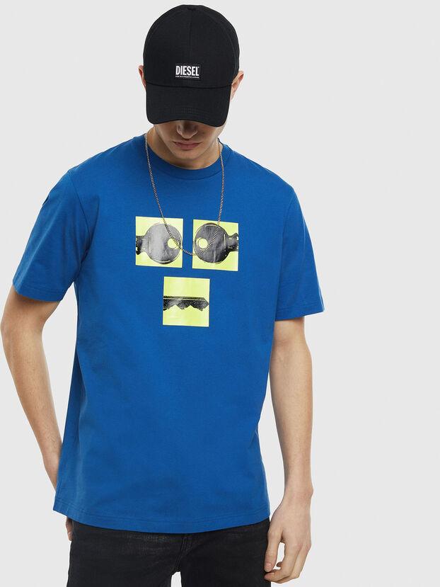 T-JUST-T23, Bleu - T-Shirts