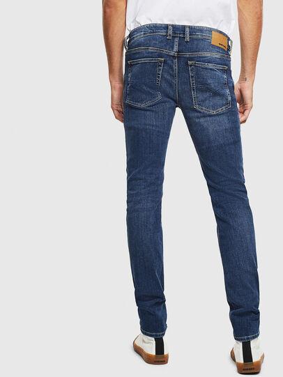 Diesel - Sleenker 0095F, Bleu Foncé - Jeans - Image 2