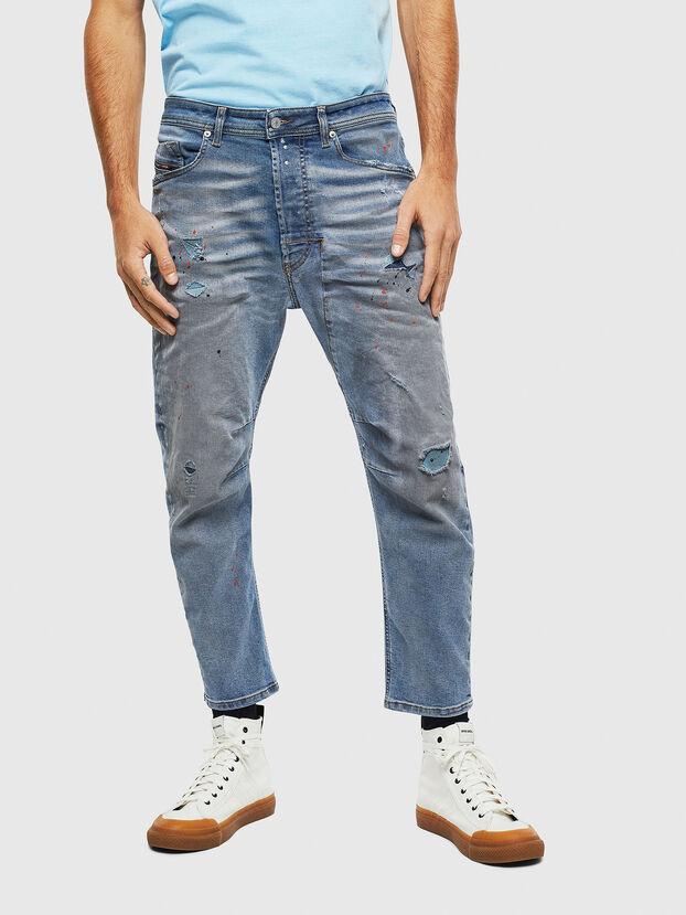 Narrot 009BN, Bleu moyen - Jeans