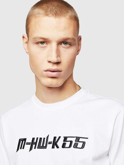 Diesel - T-DIEGO-B17, Blanc - T-Shirts - Image 3