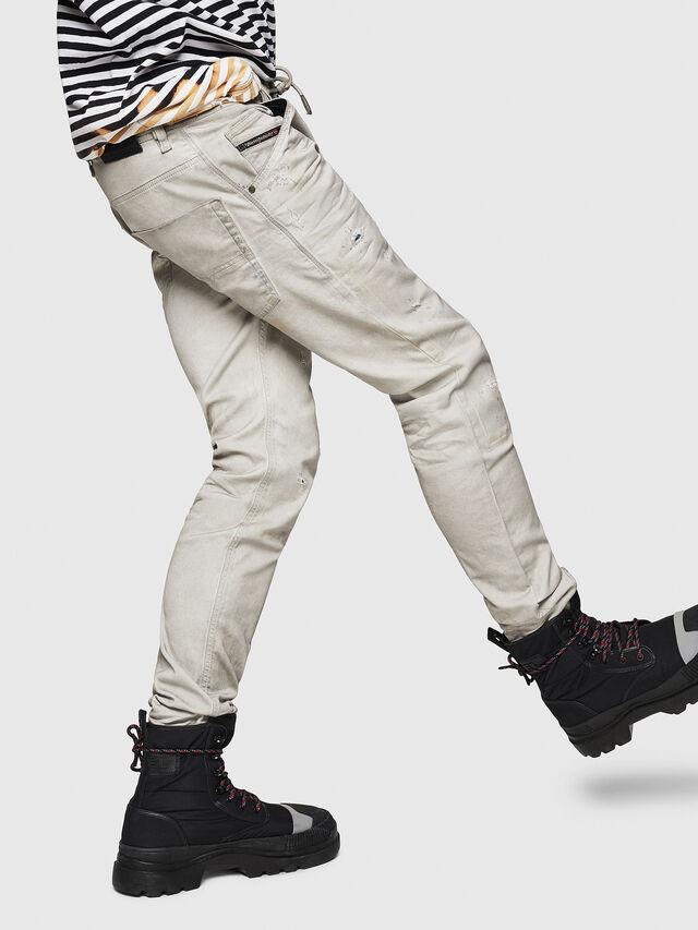 Diesel - Krooley JoggJeans 069GT, Gris Clair - Jeans - Image 5