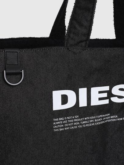 Diesel - D-THISBAG SHOPPER L, Noir - Cabas et Sacs d'Épaule - Image 5