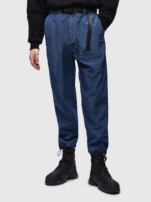 P-BERG, Bleu - Pantalons