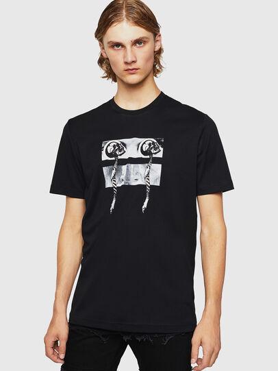 Diesel - TY-X1, Noir - T-Shirts - Image 1