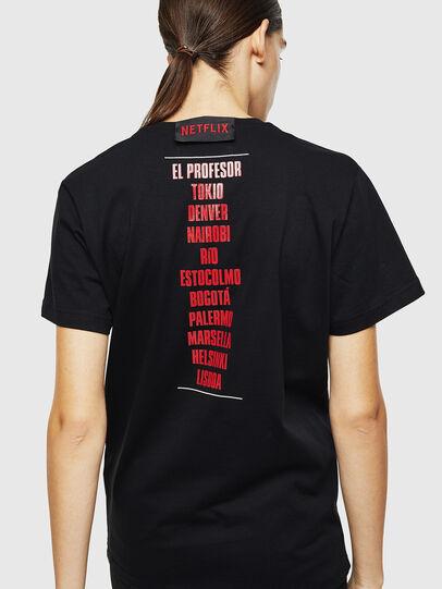 Diesel - LCP-T-DIEGO-CASA, Noir - T-Shirts - Image 4