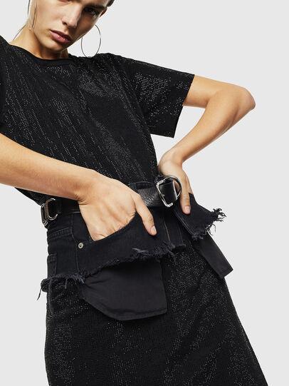 Diesel - D-ARY, Noir - Robes - Image 4