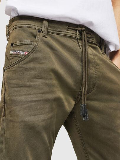 Diesel - Krooley Long JoggJeans 0670M, Vert Militaire - Jeans - Image 3